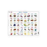 Puzzle Larsen - Learn to read, 40 piese (LS41-GB)