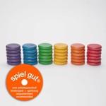 GRAPAT 36 x coins (6 colors)