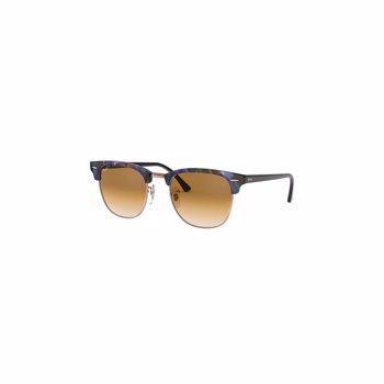 Ochelari de soare clubmaster cu lentile uni