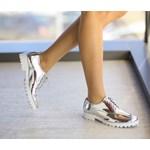 Pantofi Casual Paty Argintii
