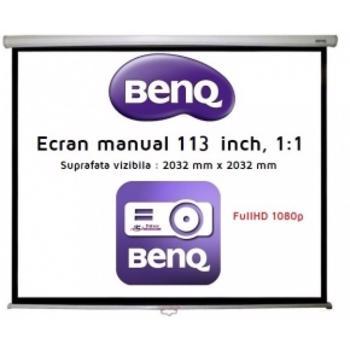 Ecran Proiectie Videoproiector BenQ 113 inch 5J.BQM11.F13