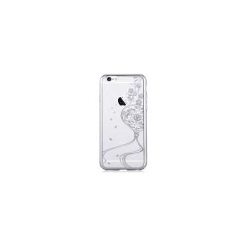 Protectie spate Devia Crystal Secret Garden DVSGIPH6SV pentru Apple iPhone 6/6S (Argintiu)