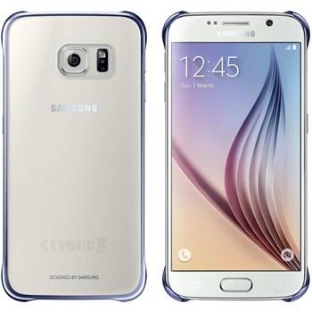 Husa Capac Clear Cover Black EF-QG920BBEGWW pentru Samsung Galaxy S6 G920