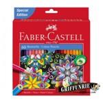 Creioane colorate Faber-Castell 60 culori/set, editie speciala