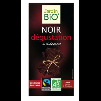 Ciocolata neagra cu 70% cacao bio