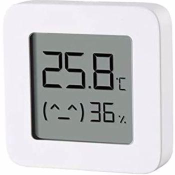 Senzor de temperatura si umiditate bluetooth cu afisaj LCD Xiaomi LYWSD03MMC Alb Patrat lywsd03mmc