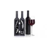 Set accesorii pentru vin, in forma de sticla