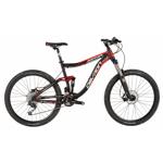 """Bicicleta MTB Devron erga Fs6.7, Roti 27.5"""", Cadru M 430mm, Frana pe disc hidraulica (Negru/Rosu)"""
