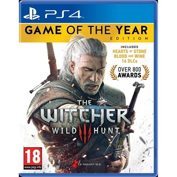 THE WITCHER 3 WILD HUNT GOTY EDITION - PS4