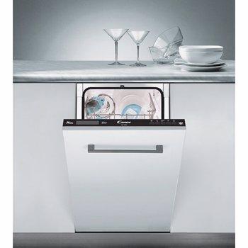 Masina de spalat vase Candy CDI 1D952, Incorporabila, 9 seturi, 8 programe, 45 cm, 32900678