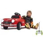 Masinuta electrica copii Mercedes Benz 300SL rosie Jamara 6V cu telecomanda control parinti ja405037