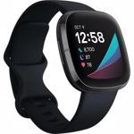 Ceas smartwatch Fitbit Sense, Carbon Graphite