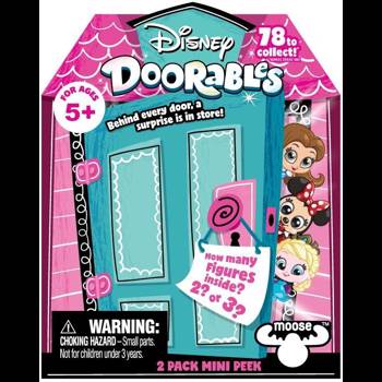 Figurine / Pachet doua figurine cu surpriza Disney Doorables S1