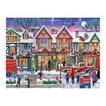 Puzzle Ravensburger - Christmas in the Square, 1.000 piese (15291)