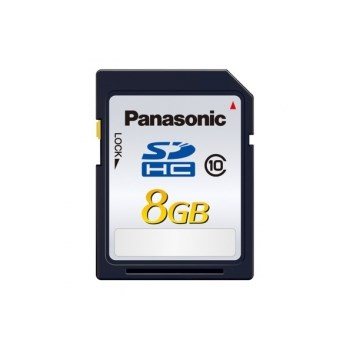 Panasonic SDHC 8GB Class 10 silver