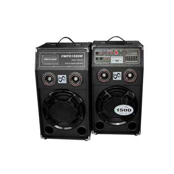 Sistem de boxe RAC-284A cu amplificator de putere, bluetooth incorporat, 120 W pe canal, Egalizator, AUX