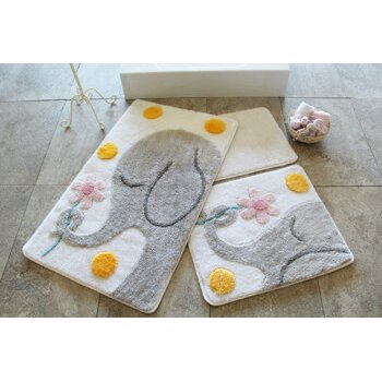 Set covorase baie Chilai Home by Alessia, 351ALS2107, Multicolor