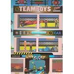 Carte de colorat Masini si Motoare Girasol - Colectia Teamboys
