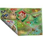 Covoras de Joaca Imprimeu Dublu Ecomat - Ferma si Oras