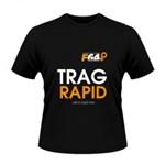 Tricou negru -Trag Rapid - XXL