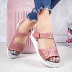 Sandale dama Piele roz Coveria-rl