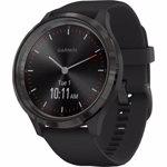 Ceas Smartwatch Garmin Vivomove 3 Sport Silicone Black Gunmetal 010-02239-21