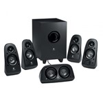 "BOXE Logitech 5.1 ""Z506"" RMS power: 75 W (16W + 16W + 8W x 4), Black ""980-000431"" (include timbru verde 1 leu)"