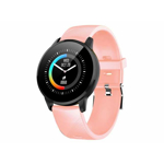 Smart Watch T-FIT 220 HB si Bratara Fitness roz puls tensiune Trevi band-smart-tfit220hbpk-trv