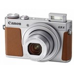 Aparat Foto Digital Canon PowerShot G9X Mark II, 20 MP, Zoom Optic 3x, Filmare Full HD (Argintiu)
