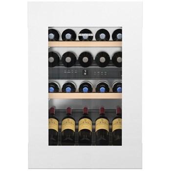Vitrina de vin incorporabila Liebherr, EWTgw 1683, GlassWhite, clasa G, Display LCD, 104 L