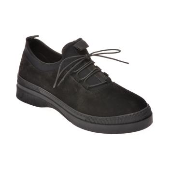 Pantofi FLAVIA PASSINI negri, 102315, din piele intoarsa