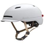 Casca protectie Smart4U Smart Shine Leading Edition Semnalizare Alb SH50L White