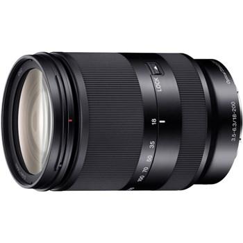 Obiectiv Sony, montura E, 18–200 mm, F3.5–6.3 OSS LE, Negru
