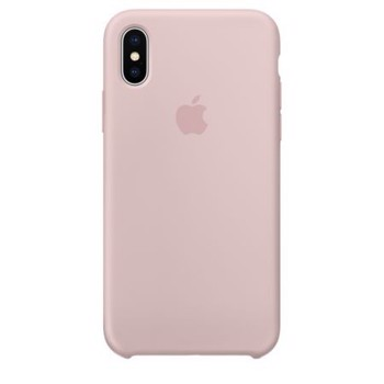 Husa Apple iPhone X MyStyle din Silicon,ANTISOC,OEM , Roz / Pink Sand