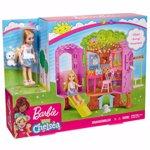 Set de joaca Barbie - Chelsea si Casa din copac