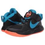 Incaltaminte Fete Nike Kids Team Hustle D 9 (Little Kid) BlackLaser BlueHyper Crimson