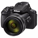 Aparat foto digital NIKON P900, 16MP, Wi-Fi, negru
