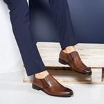 Pantofi barbati Piele Pierre maro eleganti