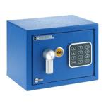 Seif standard mini Yale YSV/170/DB1/B, cifru (Albastru)