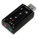 Adaptor de sunet LogiLink 7.1 Virtual UA0078 (Negru)