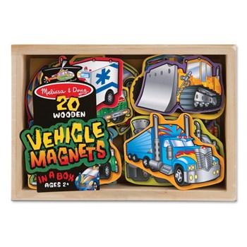 Melissa & Doug Vehicule cu magneti Melissa and Doug