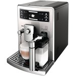 Espressor automat Saeco Xelsis Evo HD8953/19 1500W 15 bar 1.6L Recipient lapte 0.5L Negru/Argintiu