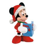 Figurina Minnie Mouse, Craciun