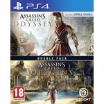 COMPILATION ASSASSINS CREED ODYSSEY & ASSASSINS CREED ORIGINS - PS4