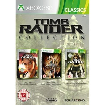TOMB RAIDER TRILOGY - XBOX 360