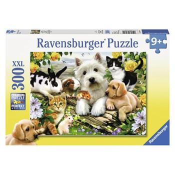 Puzzle animale prietenoase, 300 pcs