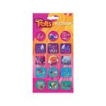 Set stickere pufoase Troli