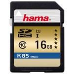 Card de memorie SD HC 16 GB HAMA 114947, R:85 MB/S