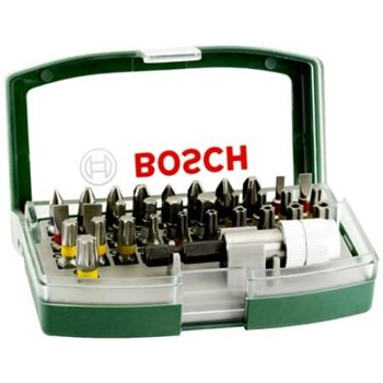 Bosch 32-Piece Bit Set (Accessories for Power Tools and Manual Screwdrivers)