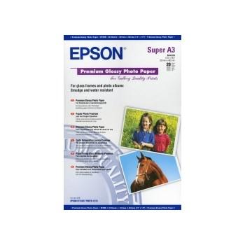 Premium Glossy Photo Paper Epson DIN A3+ 20 Blatt s041316